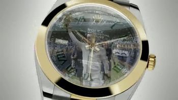 Rolex Oyster Perpetual Datejust 41 TV Spot, 'Rolex and Wimbledon' - Thumbnail 8