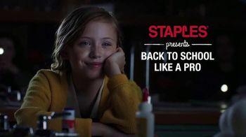 Staples TV Spot, 'Back to School: Shoot for the Stars' - Thumbnail 1