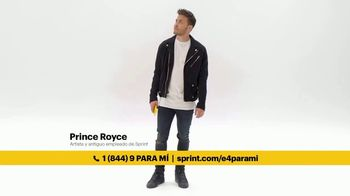 Sprint Unlimited TV Spot, 'Moto E4' con Prince Royce [Spanish] - 102 commercial airings