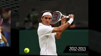 Tennis Warehouse TV Spot, 'Evolution of the Pro Staff' Ft. Roger Federer - 44 commercial airings