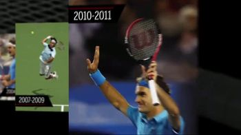 Tennis Warehouse TV Spot, 'Evolution of the Pro Staff' Ft. Roger Federer - Thumbnail 7