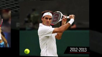 Tennis Warehouse TV Spot, 'Evolution of the Pro Staff' Ft. Roger Federer - 44 commercial airings