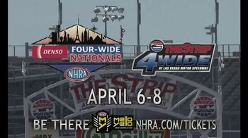 NHRA TV Spot, 'Las Vegas Four-Wide, Houston and Charlotte' - Thumbnail 8
