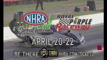 NHRA TV Spot, 'Las Vegas Four-Wide, Houston and Charlotte' - Thumbnail 9