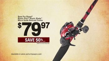 Bass Pro Shops Spring Gear Up Sale TV Spot, 'Cargo Shorts and Fishing Rods' - Thumbnail 4