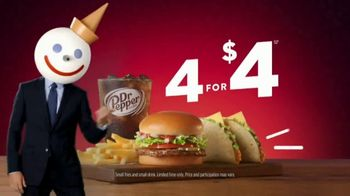 Jack in the Box 4 for $4 Jack's Deal TV Spot, 'Did You Say Tacos?' - Thumbnail 10