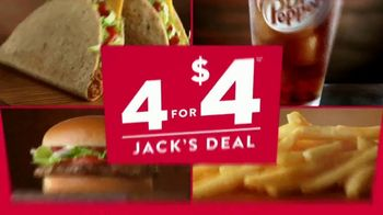 Jack in the Box 4 for $4 Jack's Deal TV Spot, 'Did You Say Tacos?' - Thumbnail 8