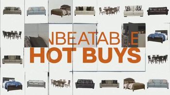 Ashley HomeStore TV Spot, 'Hot Buys' - Thumbnail 2