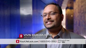 LifeLock TV Spot, 'Faces V3.1A REV1' - Thumbnail 3
