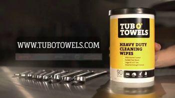 Tub O'Towels Heavy Duty TV Spot, 'KevDogg at It Again Stamping Dave!' - Thumbnail 9