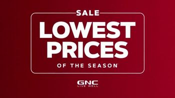 GNC Lowest Prices of the Season Sale TV Spot, 'Save on Your Favorite Items' - Thumbnail 2