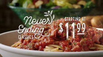 Olive Garden Never Ending Classics TV Spot, 'Urgency' - Thumbnail 4