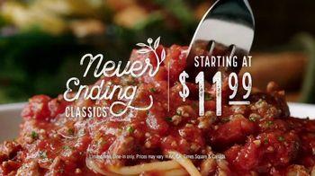 Olive Garden Never Ending Classics TV Spot, 'Urgency' - Thumbnail 9