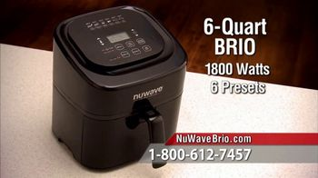 NuWave Brio Digital Air Fryer TV Spot, 'We Love Fried Food' - Thumbnail 10