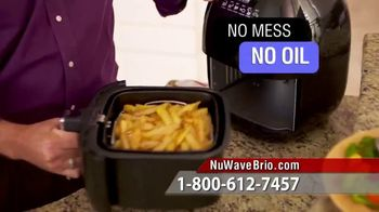NuWave Brio Digital Air Fryer TV Spot, 'We Love Fried Food'
