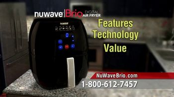 NuWave Brio Digital Air Fryer TV Spot, 'We Love Fried Food' - Thumbnail 6