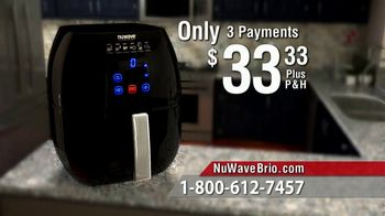 NuWave Brio Digital Air Fryer TV Spot, 'We Love Fried Food' - Thumbnail 7
