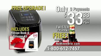 NuWave Brio Digital Air Fryer TV Spot, 'We Love Fried Food' - Thumbnail 9