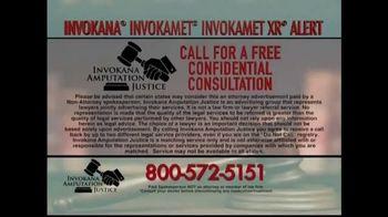 Invokana Amputation Justice TV Spot, 'Diabetes Health Advisory' - Thumbnail 7