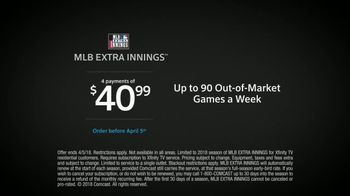 XFINITY MLB Extra Innings TV Spot, 'Become a Pro Fan' - Thumbnail 9