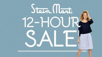 Stein Mart 12-Hour Sale TV Spot, 'Huge Storewide Savings'