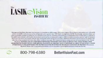The LASIK Vision Institute TV Spot, 'Get Better Vision Fast' - Thumbnail 10