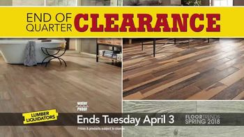 Lumber Liquidators End of Quarter Clearance Sale TV Spot, 'Spring Floors' - Thumbnail 2