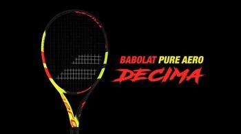 Babolat Pure Aero Decima TV Spot, 'Vamos' Featuring Rafa Nadal - Thumbnail 10