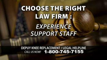 Kuhlman & Lucas TV Spot, 'Depuy Knee Replacement Complications' - Thumbnail 8