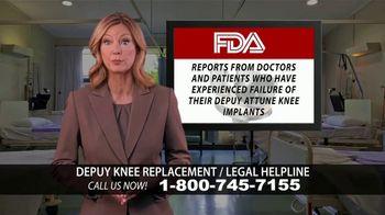 Kuhlman & Lucas TV Spot, 'Depuy Knee Replacement Complications' - Thumbnail 3