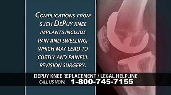 Kuhlman & Lucas TV Spot, 'Depuy Knee Replacement Complications' - Thumbnail 6