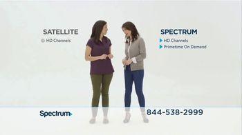 Spectrum TV Spot, 'Spectrum vs. Satellite' - Thumbnail 2