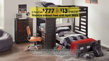Rooms to Go Kids 27th Anniversary Sale TV Spot, 'Twin Loft Bed' - Thumbnail 3