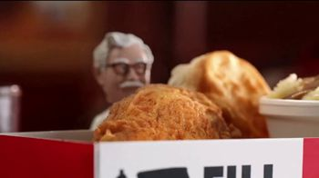KFC $5 Fill Ups TV Spot, 'Two Pieces' - Thumbnail 1