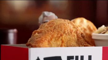 KFC $5 Fill Ups TV Spot, 'Two Pieces' - Thumbnail 2