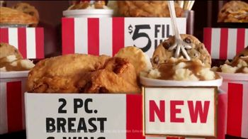 KFC $5 Fill Ups TV Spot, 'Two Pieces' - Thumbnail 6