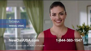 NewDay USA 100 VA Loan TV Spot, 'Tatiana: Big One'