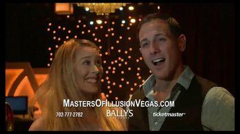 Masters of Illusion TV Spot, '2018 Bally's Las Vegas' - Thumbnail 3