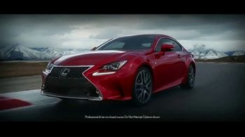 Lexus Command Performance Sales Event TV Spot, 'Nothing Compares' [T2] - 601 commercial airings