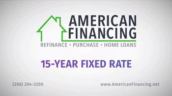 American Financing TV Spot, 'Half the Time'