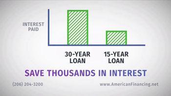 American Financing TV Spot, 'Half the Time' - Thumbnail 2
