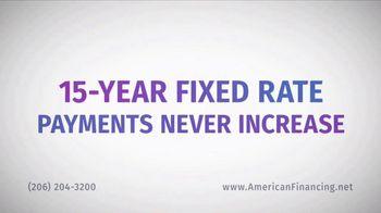 American Financing TV Spot, 'Half the Time' - Thumbnail 4
