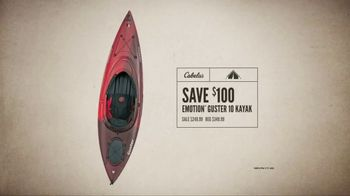 Cabela's Great Outdoor Days Sale TV Spot, 'Hunting Boots and Tent' - Thumbnail 9