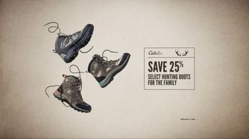 Cabela's Great Outdoor Days Sale TV Spot, 'Hunting Boots and Tent' - Thumbnail 6