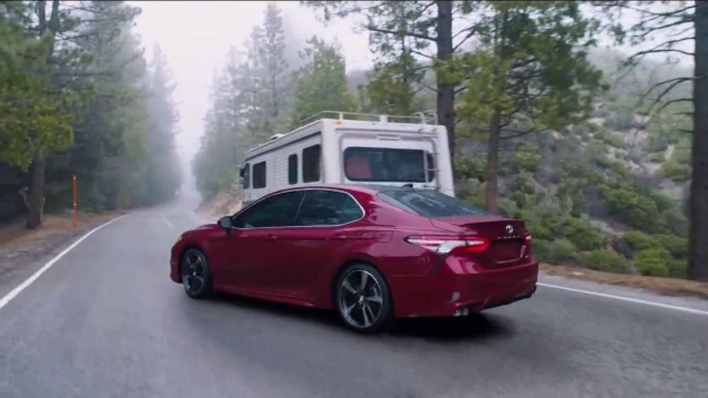 Toyota Camry TV Commercial, Safety Sense in Action