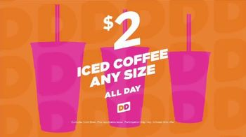 Dunkin' Donuts Iced Coffee TV Spot, 'Power Up' - Thumbnail 7