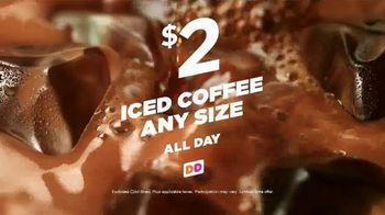 Dunkin' Donuts Iced Coffee TV Spot, 'Power Up' - Thumbnail 8