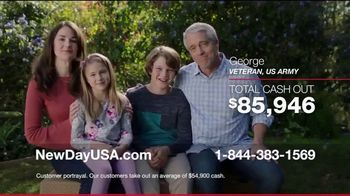 NewDay USA VA Home Loan TV Spot, 'Thank You Admiral Cash Out'