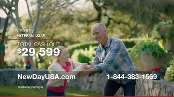 NewDay USA VA Home Loan TV Spot, 'Thank You Admiral Cash Out' - Thumbnail 4
