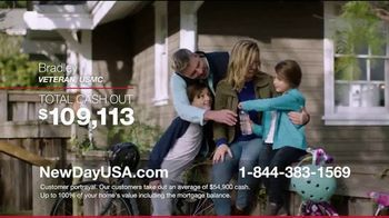 NewDay USA VA Home Loan TV Spot, 'Thank You Admiral Cash Out' - Thumbnail 5